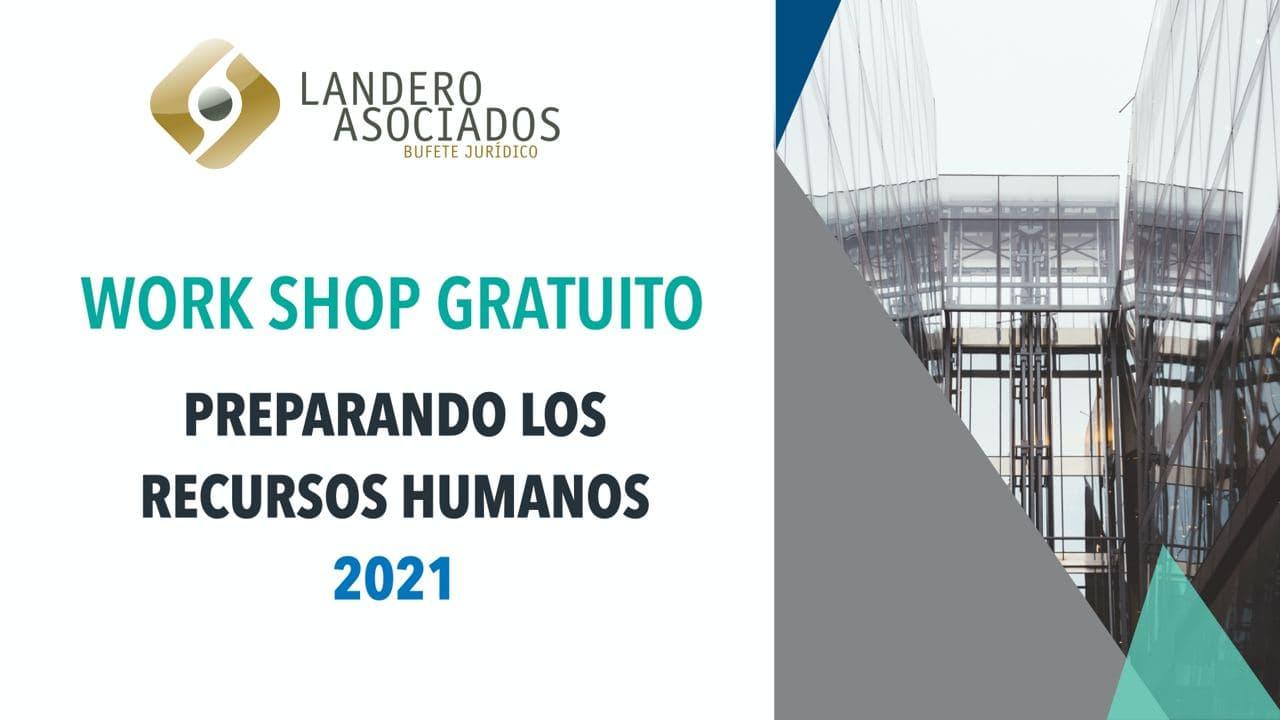 Workshop preparando los recursos humanos 2021